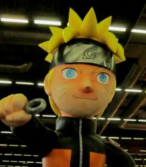 Paris Japan expo Naruto gonflable