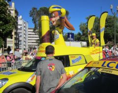Tour de France, Pau, Nesquik