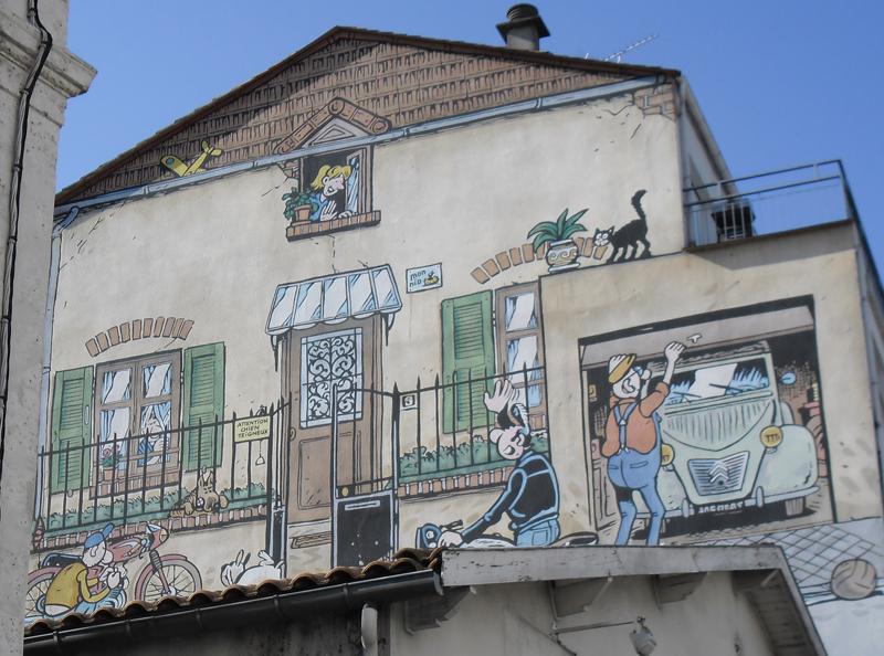 40è Festival de la BD, à Angoulême Angouleme-mur-bd