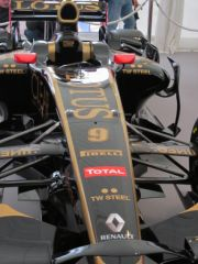 Grand Prix Pau 2012 : tente red bull, lotus f1
